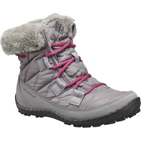 Columbia Minx Shorty Omni-Heat WP Shoes Youth Light Grey/Deep Blush